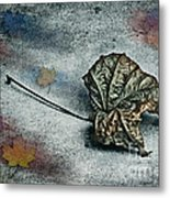 Autumn Is Around The Corner Metal Print