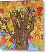 Autumn Leaves 1 Metal Print