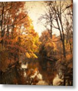 Autumn Lingers Metal Print