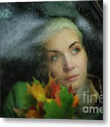 Autumn Melancholy Metal Print
