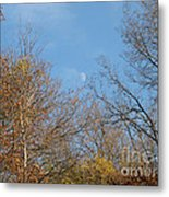 Autumn Moonrise Metal Print