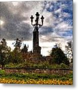 Autumn Morning At Symphony Circle V2 Metal Print