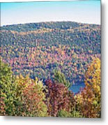 Autumn Mountain Metal Print