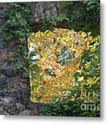 Autumn Naturally Framed Metal Print