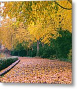 Autumn - New York City - Fort Tryon Park Metal Print