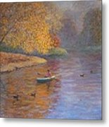 Autumn On Avon Nz. Metal Print