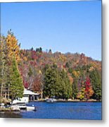 Autumn On The Fulton Chain Of Lakes In The Adirondacks V Metal Print
