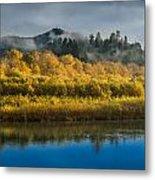 Autumn On The Klamath 2 Metal Print