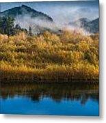 Autumn On The Klamath 5 Metal Print