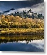 Autumn On The Klamath 6 Metal Print