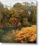 Autumn On The Ocean Metal Print