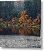 Autumn On The Umpqua Metal Print by Suzy Piatt
