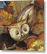 Autumn Owl Metal Print