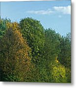 Autumn Panorama 3 Metal Print