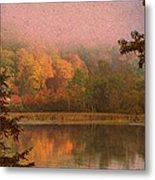 Autumn Paper Metal Print