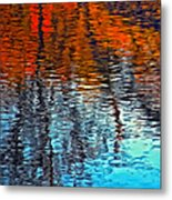 Autumn Patterns Metal Print