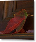 Autumn Piano 5 Metal Print