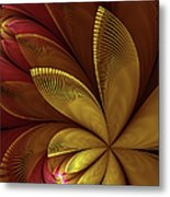 Autumn Plant Metal Print