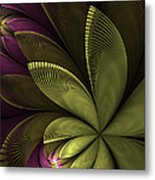 Autumn Plant II Metal Print