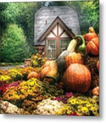 Autumn - Pumpkin - This Years Harvest Was Awesome  Metal Print