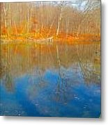 Autumn Reflection 2 Metal Print
