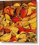 Autumn Remains 2 Metal Print