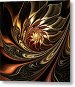 Autumn Reverie Abstract Metal Print