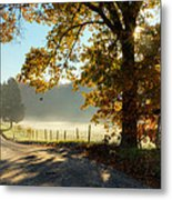 Autumn Road Metal Print by Bill Wakeley