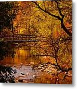 Autumn Scene Metal Print