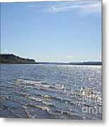 Autumn Shore Metal Print