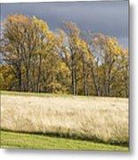 Autumn Skies Canaan Valley Of West Virginia Metal Print