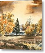 Autumn Sky No W103 Metal Print