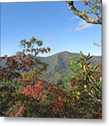 Autumn Smoky Mountains Metal Print