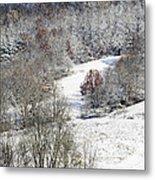 Autumn Snow West Virginia Metal Print