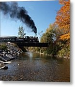 Autumn Steam Metal Print