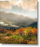 Autumn Storm Clearing Metal Print