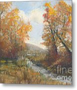 Autumn Study 3 Metal Print