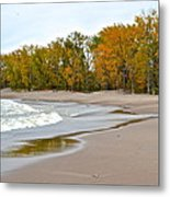 Autumn Tides Metal Print