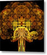 Autumn Tree Metal Print by Sandy Keeton