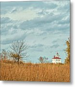 Autumn Twilight Pano Metal Print