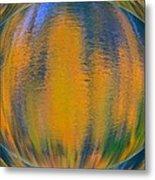 Autumn Vision Reflections Metal Print