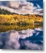 Autumnal Reflections Metal Print