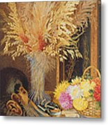 Autumnal Still Life Metal Print by Marian Emma Chase