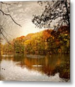 Autumn's Adieu Metal Print