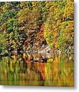 Autumns Glow Metal Print