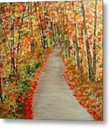 Autumn's moment Metal Print