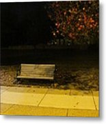 Autumn's Nocturnal Solace Metal Print by Guy Ricketts