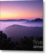 Auxier Ridge Dawn - Fm000023 Metal Print