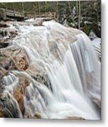 Avalanche Falls - White Mountains New Hampshire Usa Metal Print