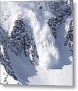 Avalanche I Metal Print by Bill Gallagher